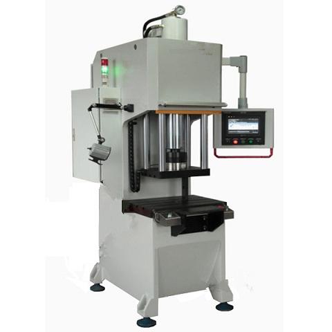 高精密度单柱液压机